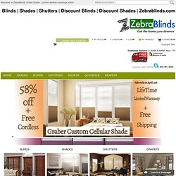 Zebrablinds.com | Buy Cheap Blinds | Home Blinds | Blinds USA