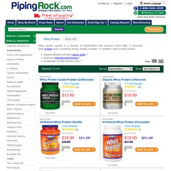 Discount Whey Protein Vitamins & Supplements