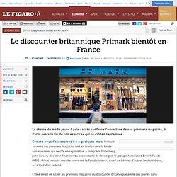 Sociétés : Le discounter britannique Primark bientôt en France