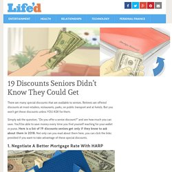 19 Discounts Seniors Didn't Know They Could Get – Life'd
