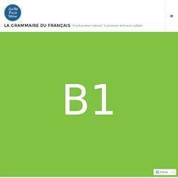 Discours indirect (au passé) & concordance des temps – La grammaire du français