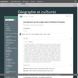 Les discours sur les nuages dans la littérature française