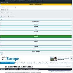 Le discours de la méthode d'Emmanuel Macron sur l'Europe