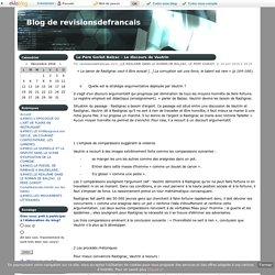 Le Père Goriot Balzac – Le discours de Vautrin - Blog de revisionsdefrancais