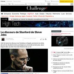 Le discours de Stanford de Steve Jobs - 6 octobre 2011