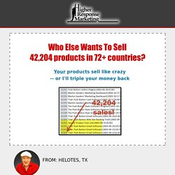 Discover the Amazing Formula That Sells Products Like Crazy!
