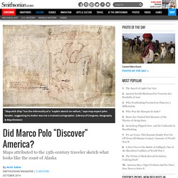 "Did Marco Polo ""Discover"" America?"