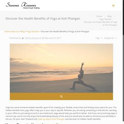 Discover the Health Benefits of Yoga at Koh Phangan