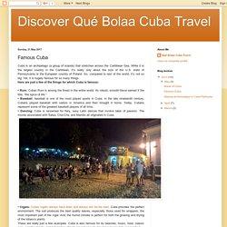 Famous Cuba