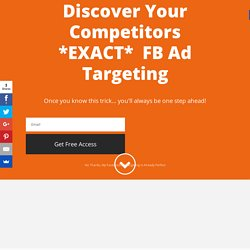 7 Secret Ways To Discover Your Competitor's Winning Facebook Ads - Connectio
