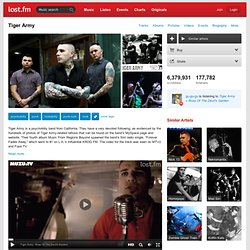 Tiger Army – Discover music, videos, concerts, & pictures at Las