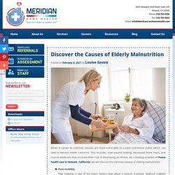 Discover the Causes of Elderly Malnutrition