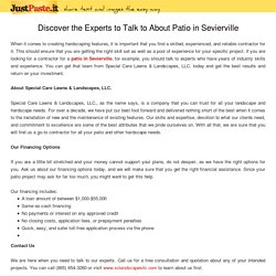 Discover the Experts to Talk to About Patio in Sevierville