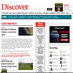 Discover Magazine Blogs