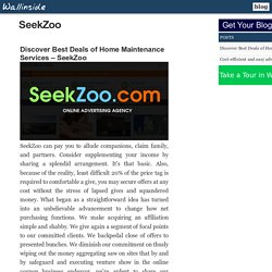 Discover Best Deals of Home Maintenance Services – SeekZoo
