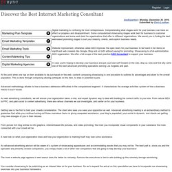 Discover the Best Internet Marketing Consultant