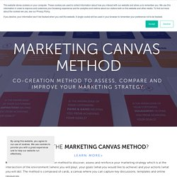 Discover the Marketing Canvas — Laurent Bouty