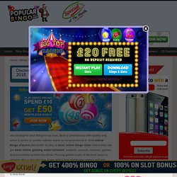 Discover the top 10 best online bingo sites UK