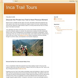 Find the Best Express Inca Trail