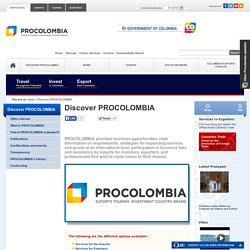 Discover PROCOLOMBIA