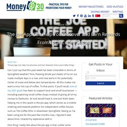 The Joe App Can Help You Discover and Earn Rewards From Local Coffee Shops