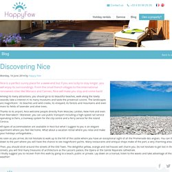 Discover the city of Nice