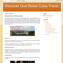 Havana Tours and Excursions