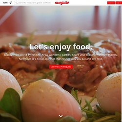 Home » NewGusto · Share Your Kitchen