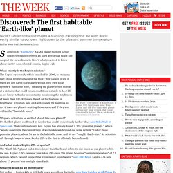 Discovered: The first habitable 'Earth-like' planet