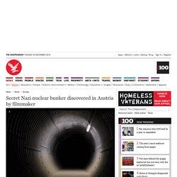 Secret Nazi nuclear bunker discovered in Austria by filmmaker - Europe