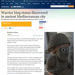 Ancient warrior king statue discovered - Technology & science - Science - LiveScience - NBCNews.com
