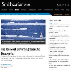 The Ten Most Disturbing Scientific Discoveries