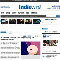 Is 'Adventure Time' One Big Allegory For Discovering Sex?