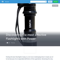 Discovering the most effective Flashlights with Power (with image) · ledtac