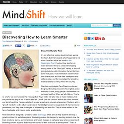 Discovering How to Learn Smarter