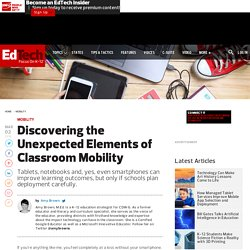 Discovering the Unexpected Elements of Classroom Mobility