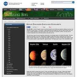 Kepler Discovers Earth-size Exoplanets - NASA Science - Iceweasel