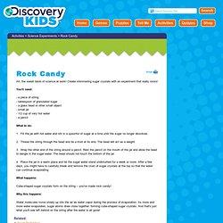 Activities - Rock Candy