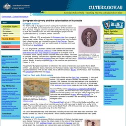 European discovery and the colonisation of Australia - Australia's Culture Portal