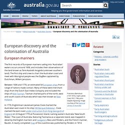 European discovery and the colonisation of Australia