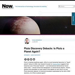 Is Pluto a Planet Again?