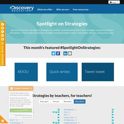 Discovery Education's Spotlight on Strategies