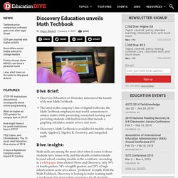 Discovery Education unveils Math Techbook