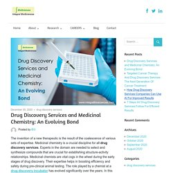Drug Discovery Services and Medicinal Chemistry: An Evolving Bond