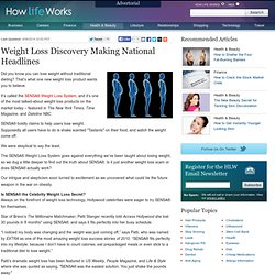 Weight Loss Discovery Making National Headlines | How Life Works - StumbleUpon