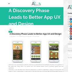 A Discovery Phase Leads to Better App UX and Design