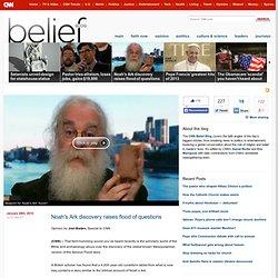 Noah's Ark discovery raises flood of questions