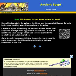 The Discovery of Tutankhamun's tomb for Kids