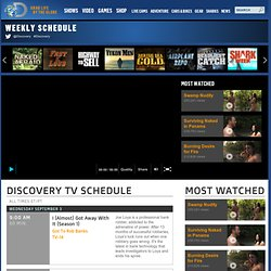 Channel :: TV Listings :: Daily Schedule