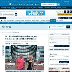 La très discrète grève des sages-femmes de l'hôpital de Pontoise